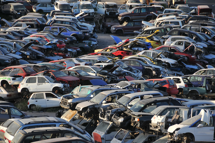 Foreign Car Parts Salvage Yard